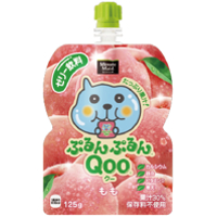 コカ・コーラ ミニッツメイド ぷるんぷるんQoo(クー) もも味125gパウチ *120個(4ケース)
