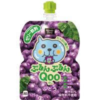 コカ・コーラ ミニッツメイド ぷるんぷるんQoo(クー) ぶどう味125gパウチ *60個(2ケース)