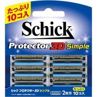 ギフ_包装 メール便発送送料無料 シック プロテクター3D 替刃 シンプル 本店 10コ入