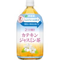 伊藤園 2つの働きカテキンジャスミン茶 1050ml(1.05L) * 12本(1ケース)