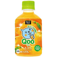 ミニッツメイド クー(Qoo)みかん280mlペットボトル *72個(3ケース)
