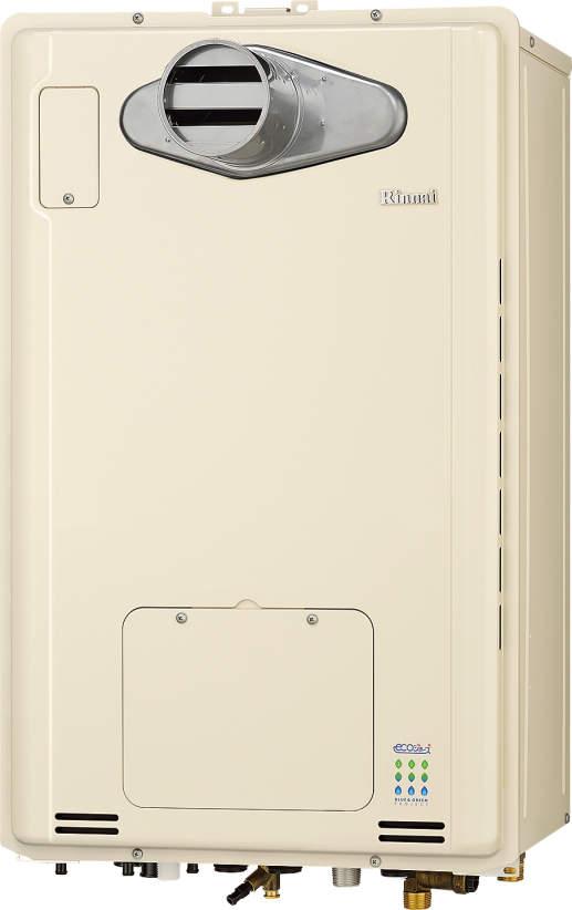 リンナイ エコジョーズ 温水暖房ふろ給湯器 RUFH-E1615AT 1温度 16号 フルオート PS扉内設置型/PS前排気型