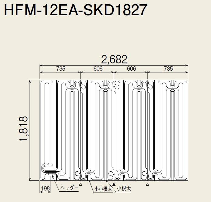 リンナイ 小根太入りハード温水マット HFM-12EA-SKD1827 リンナイ HFM-12EA-SKD1827 有効面積4.88m2, オリジナルスマホケースのEPS:504250bb --- sunward.msk.ru