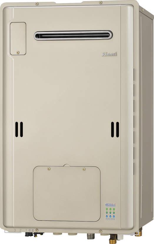 リンナイエコジョーズ温水暖房熱源機RUFH-TE1613AW(A) kaecco ドレン排水切替ユニット式 16号・フルオートタイプ・暖房能力11.6kW 床暖房1温度  屋外壁掛型