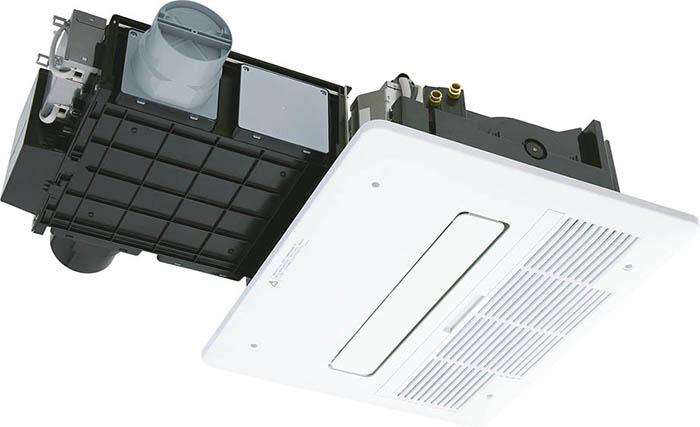 ノーリツ温水式浴室暖房乾燥機 BDV-4104AUKNC-J2-BL 2室24時間換気タイプ