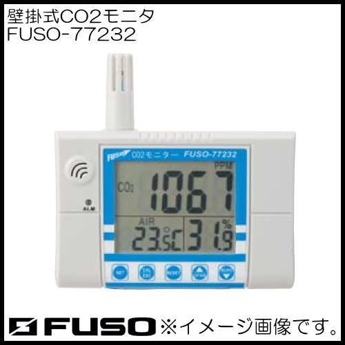 壁掛式CO2モニタ FUSO-77232 FUSO FUSO77232