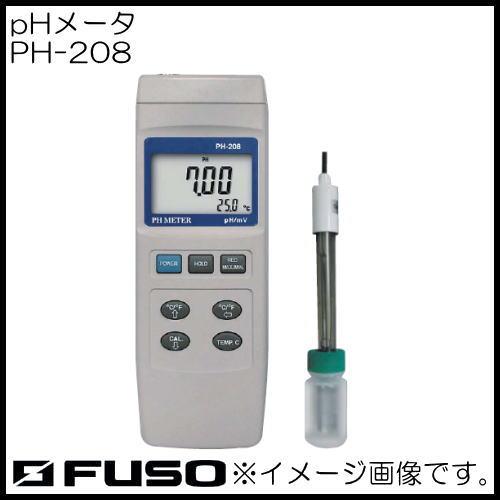 PHメータ PH-208 FUSO