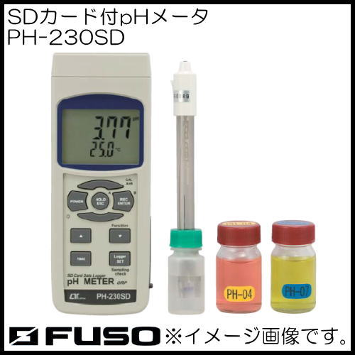 SDカード付pHメータ PH-230SD FUSO