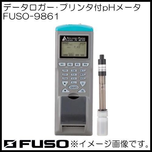 プリンタ付PHメータ FUSO-9861 FUSO