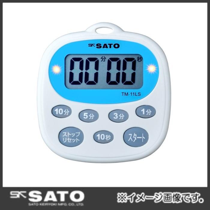キッチンタイマー 希望者のみラッピング無料 一部予約 TM-11LS No.1700-32 佐藤計量器 SATO
