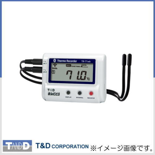 温度データロガー TR-71wb おんどとり T&D TR71wb