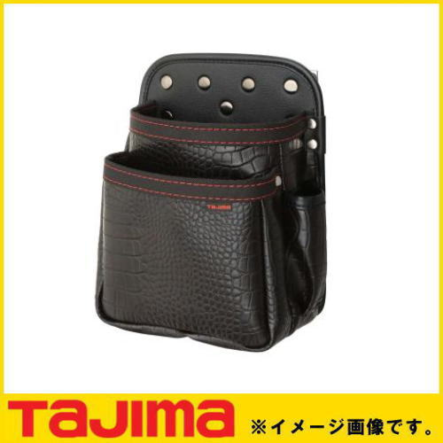 腰袋 釘袋 腰道具 クロコ 着脱式腰袋G TAJIMA タジマ SFKBG2M 2020新作 釘袋2段中 SFKBG-2M 贈答