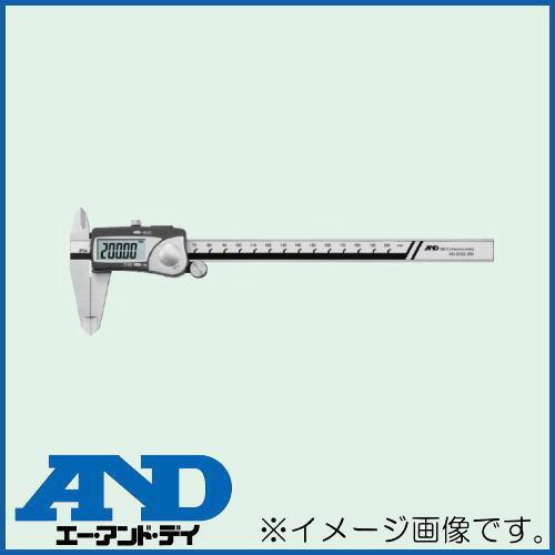 防滴デジタルノギス 200mm AD-5763-200 エーアンドデイ A&D
