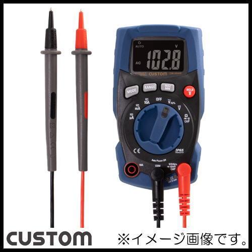 カスタム 防塵防水デジタルマルチメータ CDM-3000WP CUSTOM CDM3000WP