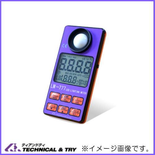 ラウンド  TECHNICAL&TRY LM-777 ティアンドティデジタル照度計 LM-777TECHNICAL&TRY ティアンドティ, アワジチョウ:59321e8e --- gbo.stoyalta.ru