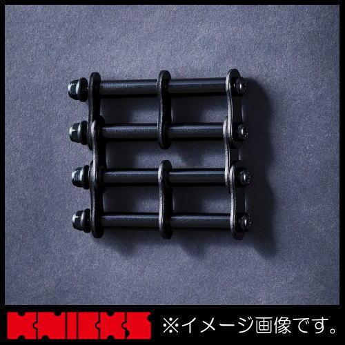 腰道具 工具差し 部品 ニックス 日本限定 サービス アルミ製金具一式 アルマイト加工 ALU-3-B ブラック KNICKS