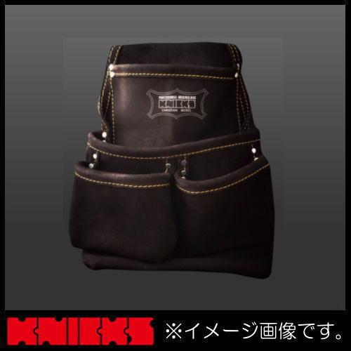 腰袋 代引き不可 釘袋 腰道具 ニックス KCA-7501B バーゲンセール KCA7501B KNICKS 2ポケット2x2工法用釘袋