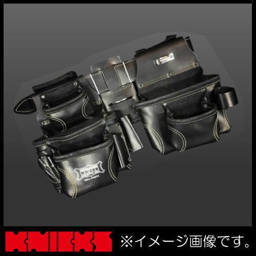 ニックス 最高級2x2ポケットフィニッシュスエードツールバッグ(ベルト取外可) KCA-9507C KNICKS KCA9507C