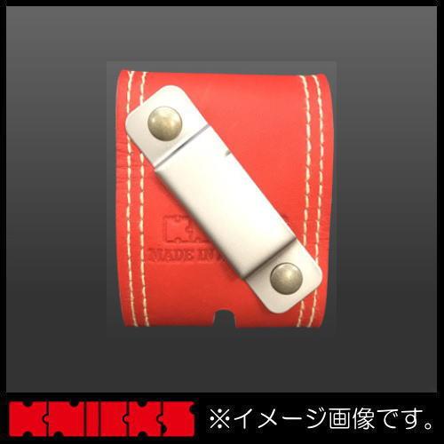 腰袋 腰道具 工具差し ニックス 激安通販ショッピング グローブ革メジャー金具付ベルト 左利き用 KGRDXM KNICKS レッド KGR-DXM 日本最大級の品揃え
