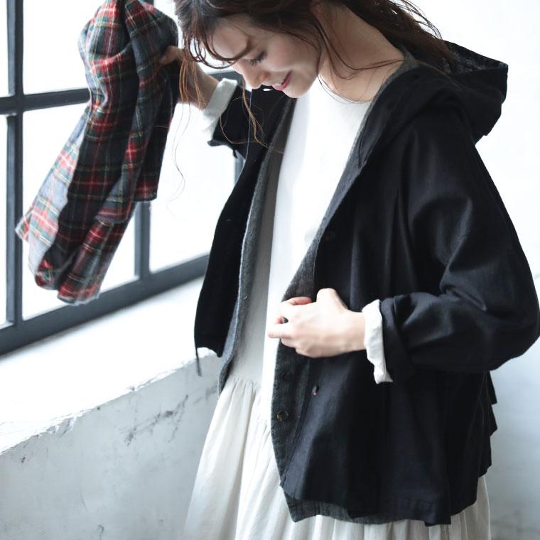 ラフすぎないフード付き羽織り M L LL 3L 4Lサイズ レディース 新品 送料無料 ライトアウター ジャケット 綿麻 コットンリネン ショート 日本最大級の品揃え コート カーディガン 長袖 フレア