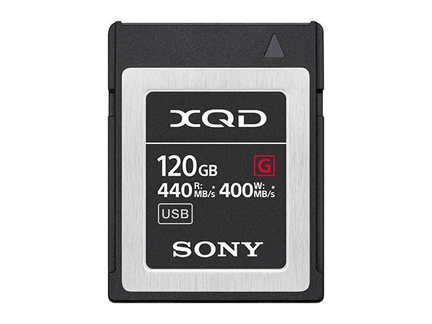即納 土日祝日を除く 在庫あります 即納可能 Gシリーズ 送料込 120GBQD-G120F 代引き不可 XQDメモリーカード