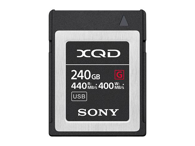 【在庫あります 即納可能】【送料無料(沖縄・離島除く)】XQDメモリーカード Gシリーズ 240GBQD-G240F