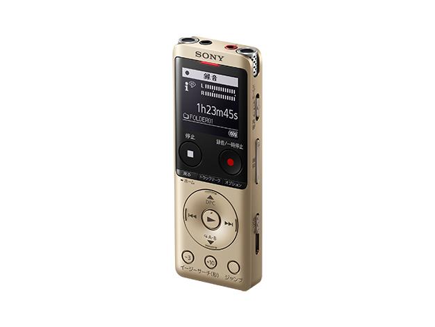 ステレオICレコーダー 4GBICD-UX570F ゴールド
