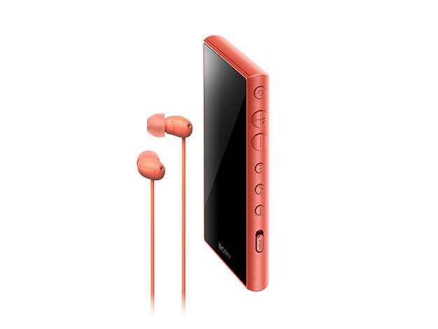 ウォークマン Aシリーズ 16GB (ヘッドホン付属)NW-A105HN オレンジ