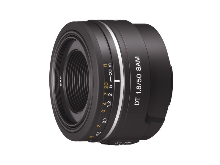 デジタル一眼レフカメラ用レンズSAL50F18