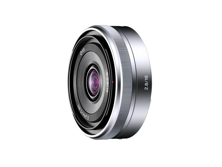 """デジタル一眼カメラ""""α""""[Eマウント]用レンズSEL16F28"""