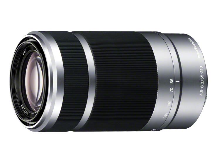 望遠ズームレンズ(E 55-210mm F4.5-6.3 OSS)SEL55210 シルバー