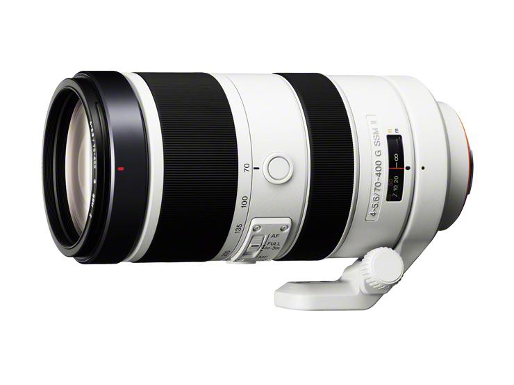"""デジタル一眼カメラ""""α""""用レンズ(70-400mm F4-5.6 G SSM II)SAL70400G2"""