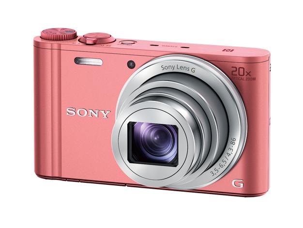 【送料無料(沖縄・離島除く)】デジタルスチルカメラDSC-WX350 ピンク