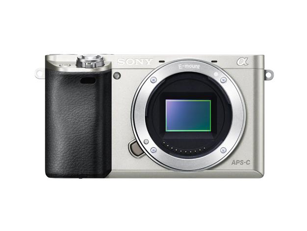 デジタル一眼カメラ α6000 本体ILCE-6000 シルバー