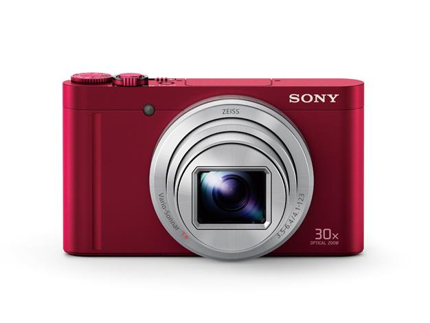 【在庫あります 即納可能】【送料無料(沖縄・離島除く)】デジタルスチルカメラDSC-WX500 レッド