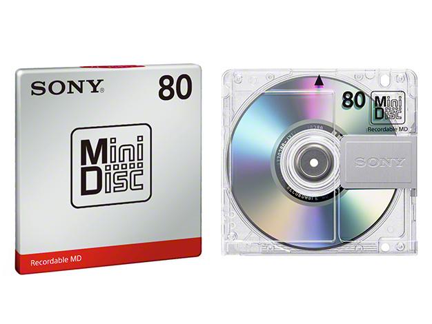 ミニディスク MDW80T