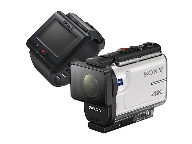 デジタル4Kビデオカメラレコーダー アクションカム ライブビューリモコンキットFDR-X3000R