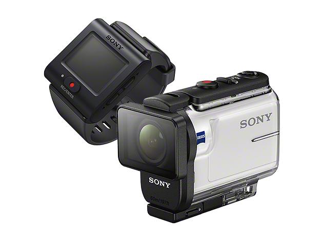 デジタルHDビデオカメラレコーダー アクションカム ライブビューリモコンキットHDR-AS300R