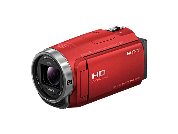 【在庫あります 即納可能】デジタルHDビデオカメラレコーダーHDR-CX680 レッド