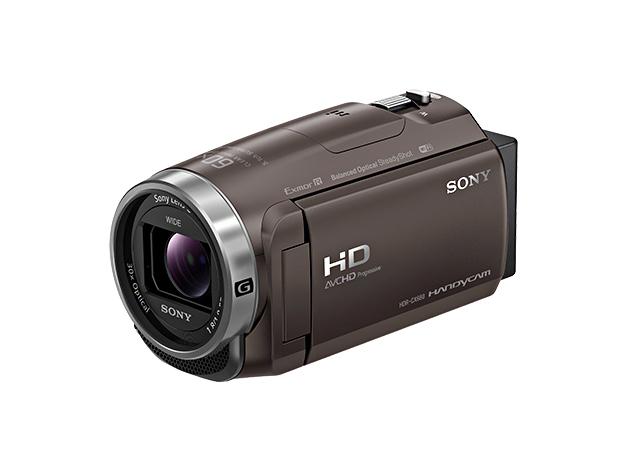 デジタルHDビデオカメラレコーダーHDR-CX680 ブロンズブラウン