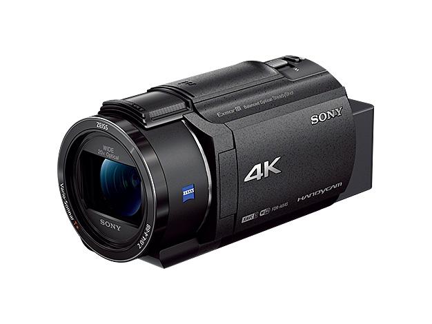 【お取り寄せ】 【送料無料(沖縄・離島除く)】デジタル4KビデオカメラレコーダーFDR-AX45 ブラック