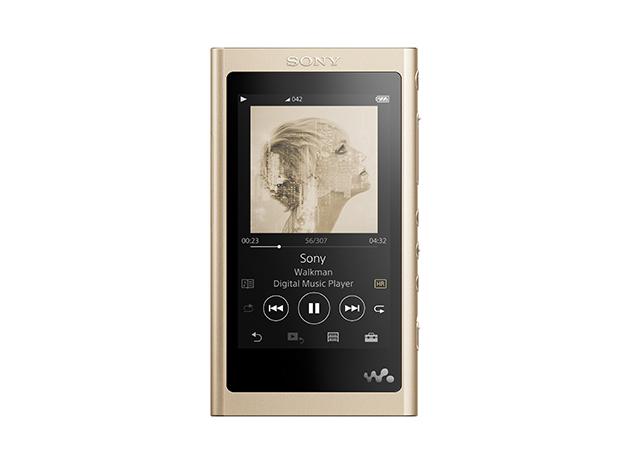 【在庫あります 即納可能】【送料無料(沖縄・離島除く)】ウォークマン Aシリーズ 16GB (ヘッドホンなし)NW-A55 ペールゴールド