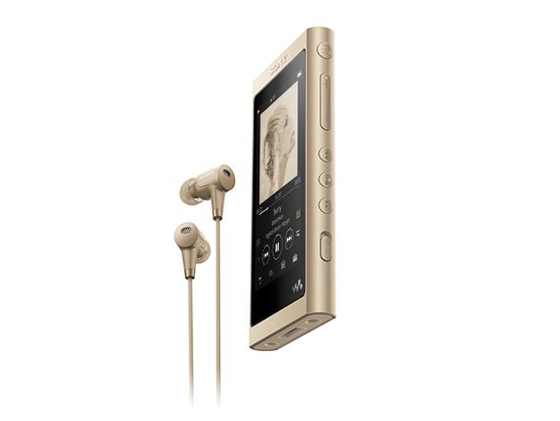 ウォークマン Aシリーズ 16GB (ハイレゾ対応ヘッドホン付)NW-A55HN ペールゴールド
