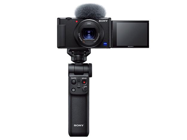 【在庫あります 即納可能】デジタルスチルカメラ シューティンググリップキットZV-1G