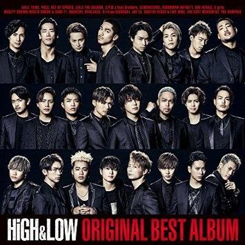 V.A./HiGH & LOW ORIGINAL BEST ALBUM(CD2枚組+DVD+スマプラ)[2CD+DVD] 2016/6/15発売 RZCD-86120