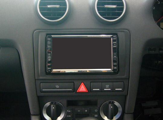 【送料無料】AU38PA2D07A pb(ピービー)アウディ Audi A3用2DINキット 純正HDDナビ付車用 【オーディオ/ナビゲーション/取付/キット/インストール】