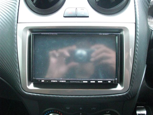 【ARM-02S】【アルファ ミト】Alfa Romeo アルファロメオ ミト mito 2DINパネルキット ナビ取付キット(ツヤなし)
