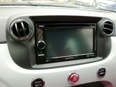 【FIAT 500・アバルト500/595/695】2DIN ナビ取付キット (ブラック) 【フィアット500】【F500-02BK】