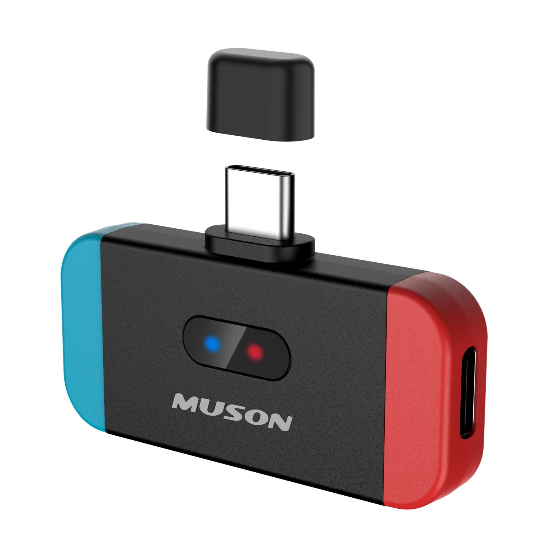 正規メーカー1年保証 MUSON ムソン MK3 Switch Bluetooth トランスミッター スイッチ lite PC用 aptX LL対応 激安価格と即納で通信販売 Bluetoothレシーバー 車 オーディオトランスミッター 2台同時接続可能 PS4 USB ワイヤレスイヤホン トレンド Type-C接続 テレビ 低遅延 ヘッドホンレシーバー