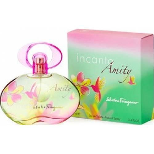 2014年に発売されたレディス香水 どこまでもフレッシュで愛おしい いつまでも一緒に過ごしたくなるような香り フレッシュで新鮮 正規品 秀逸 SALVATORE FERRAGAMO INCANTO AMITY EDT SP WOMEN'S 香水 フレグランス:フルボトル:レディース インカント 香水インカント オーデトワレ サルヴァトーレフェラガモ フェラガモ香水 100ml 新作 人気 アミティ 女性用